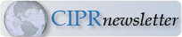 Subscribe to CIPR Newsletter